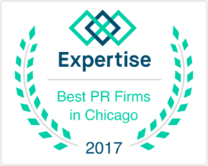 Recognized as one of the Best Chicago PR Firms by Expertise.com